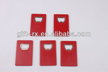 plastic card bottle opener with ABS material