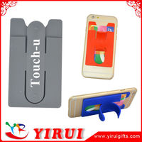 high quality portable credit card holder snap for mobile phones and cases