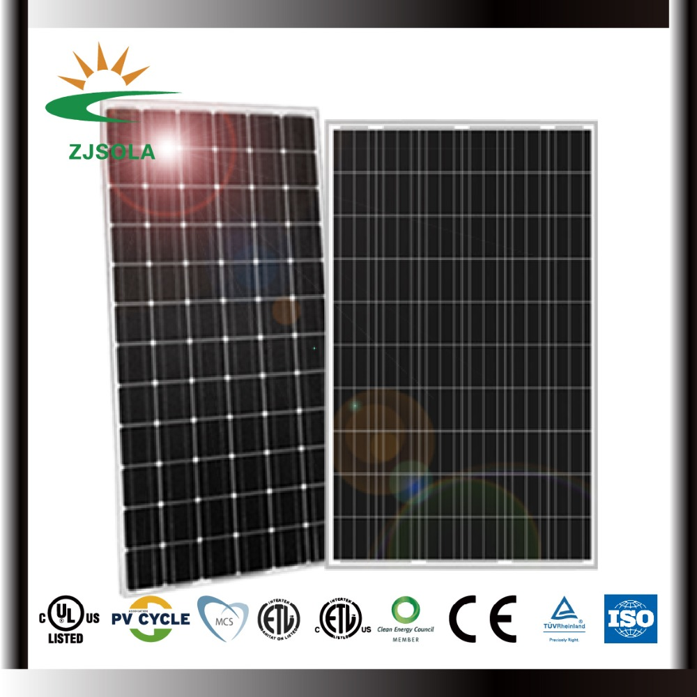 ZJSOLA solar panel for home Mono and Poly 250w 260W 300w 310w for sale cheap solar panels china