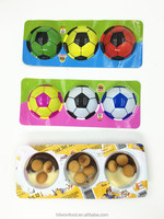 Colorful Football Cup with toy Chocolate Biscuit Cup for kids
