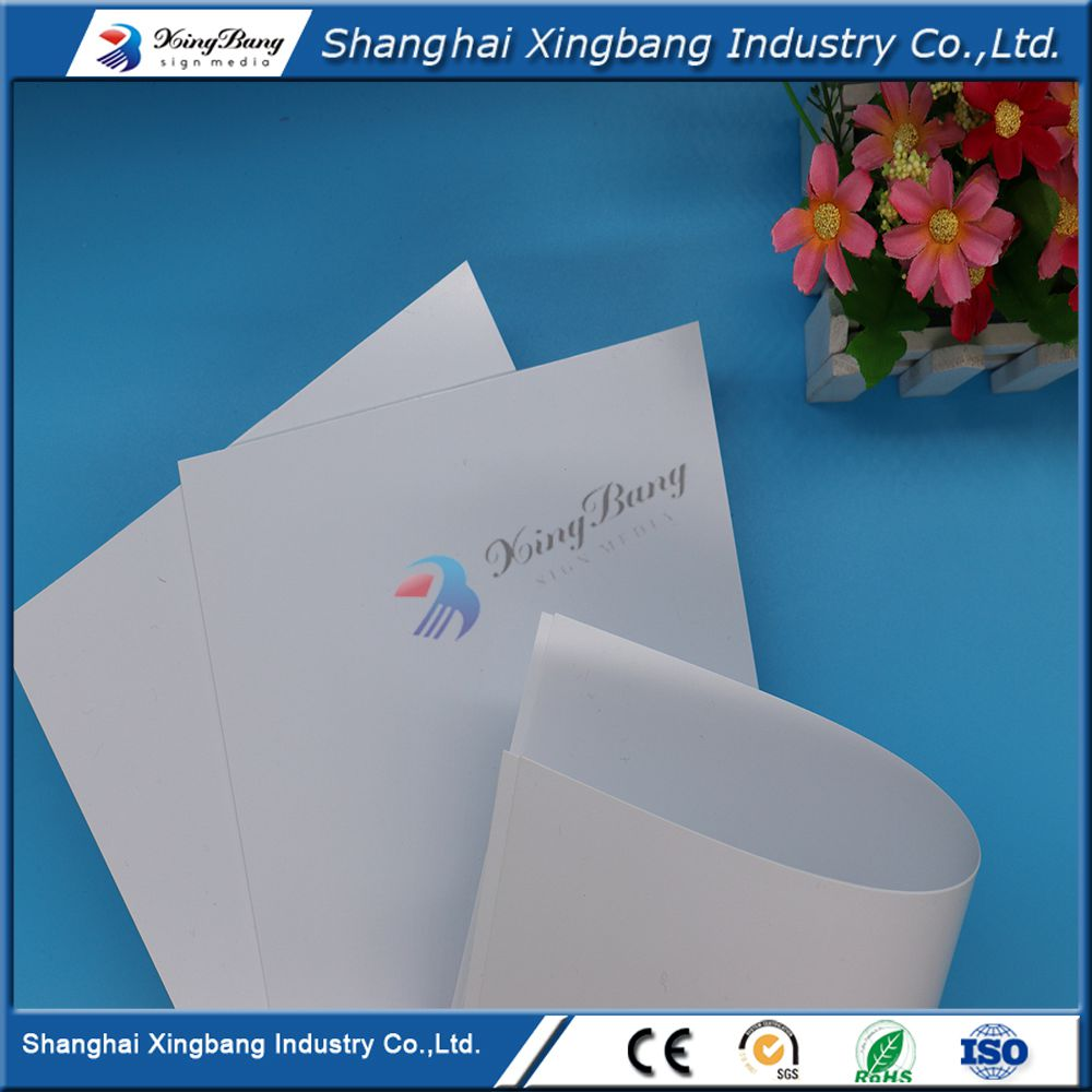 high Strength white plastic decorative PVC polystyrene sheet roll