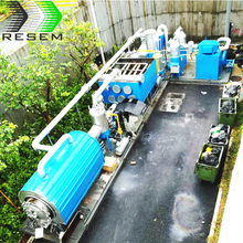 RESEM 5 Tpd Convert Waste to Energy Waste Tires Pyrolysis Equipment