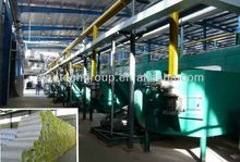aluminium foil facing glass wool felt roll machinery