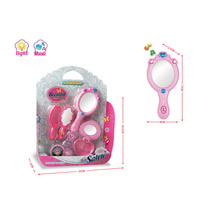 Fashion Girls Toys Plastic Makeup Mirror Beauty Play Set
