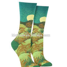 Printing Custom Wholesale Socks Men&Women Cotton/Bamboo Fiber