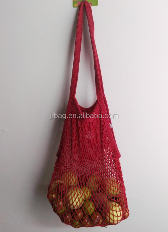 Wholesale Fruit Cotton Mesh Shopping Bag Cotton mesh Bag