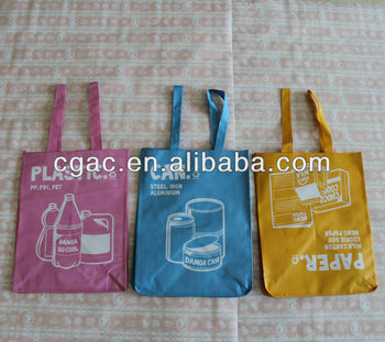 High quality colorful pp woven garbage bag