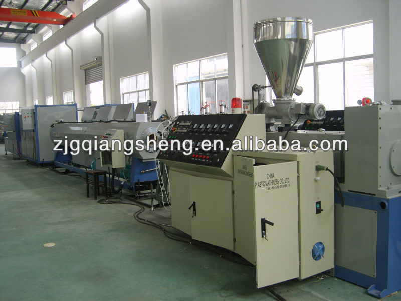 UPVC tube machine