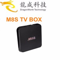 Dragonworth Amlogic S905 android tv box Quad Core 1GB 8GB H.265 Android 5 .1 full hd meida player kodi 16.0 from China