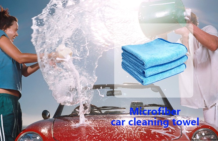 popular creative design microfiber car cleaning cloth