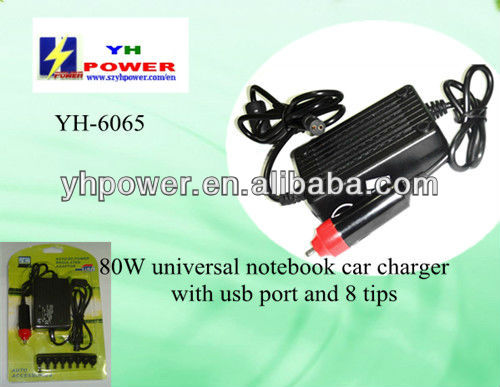 80 watts netbook charger adapter for dell
