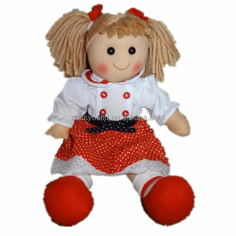Plush Toys Doll / OEM Plush Cloth Dolls / Cloth Dolls Toys