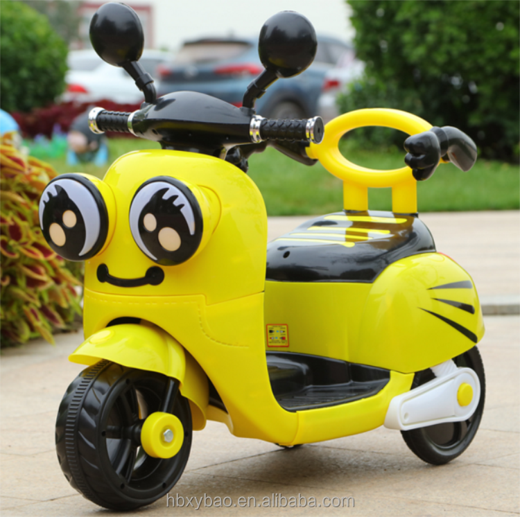 Cute style cheap plastic baby motorbike car kids toy mini motorcycle for kids