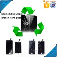 Paypal accepted! wholesale broken lcd screen digitizer repair for iphone, for samsung, for sony xperia Zl36H L36Z