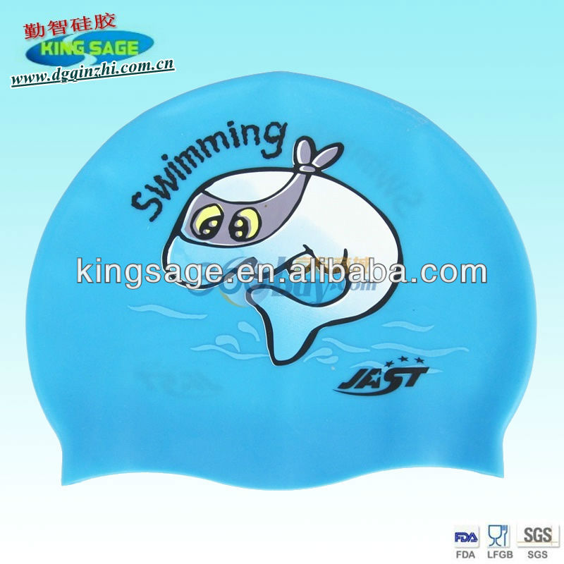 cool silicon swimming caps,large swimming cap,fashionable swim caps
