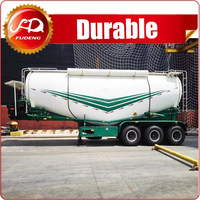 Chinese Cheap 60 CBM Bulk Lime Powder Tanker Semi Trailer For Sale