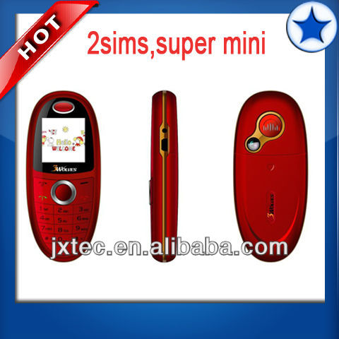 q381 dual sim quadband super mini cellphone