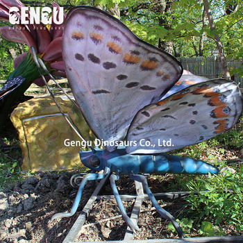 Artificial simulation insects model of butterfly