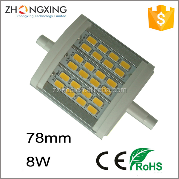 Best quality LED R7S Lamp,j type LED R7S light,LED SMD R7S Double ended halogen R7S Linear replacement