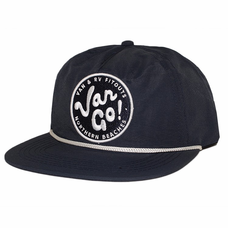 custom snapback cap with string
