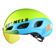 2017 Colnels two sunglasses road bicycle helmet L/M size adult outdoor bicycle racing helmet [Free shipping via Airmail]