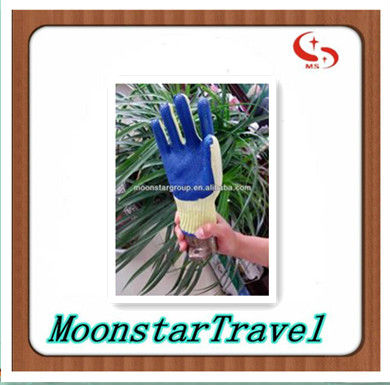 full sizes latex palm coated rubber safety glove