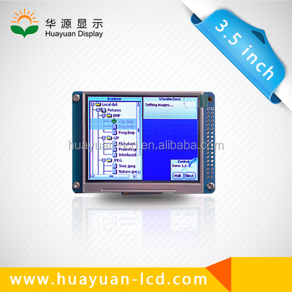 "3.5"" ( 3.5 inch ) TFT LCD display module QVGA 320X240 with touch screen serial interface driver IC HX8238D"
