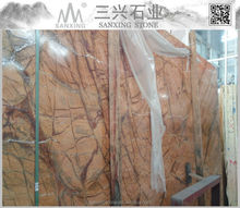 Natura marble Rain Forest Brown slab interiord decoration