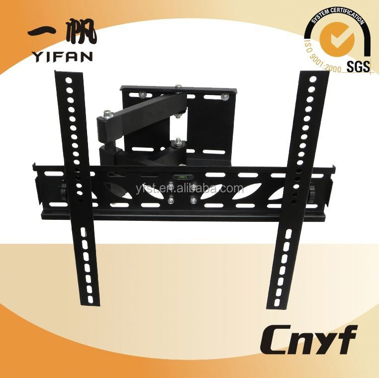 adjusting bracket Swiveling TV support HQB006B for M,lcd tv wall mount