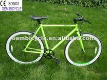 700c green 54cm 1speed fixie gear bicycle Road bike