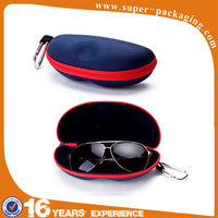 Wholesale cheap EVA eyewear glasses velvet custom gift storage packaging box
