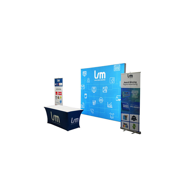 Exhibition Booth Backdrop : Portable advertising aluminum trade show exhibition booth wall