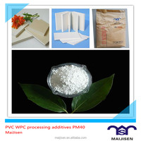 Big discount foaming modified agent toughening agent PM40 for PVC building template and PVC WPC board