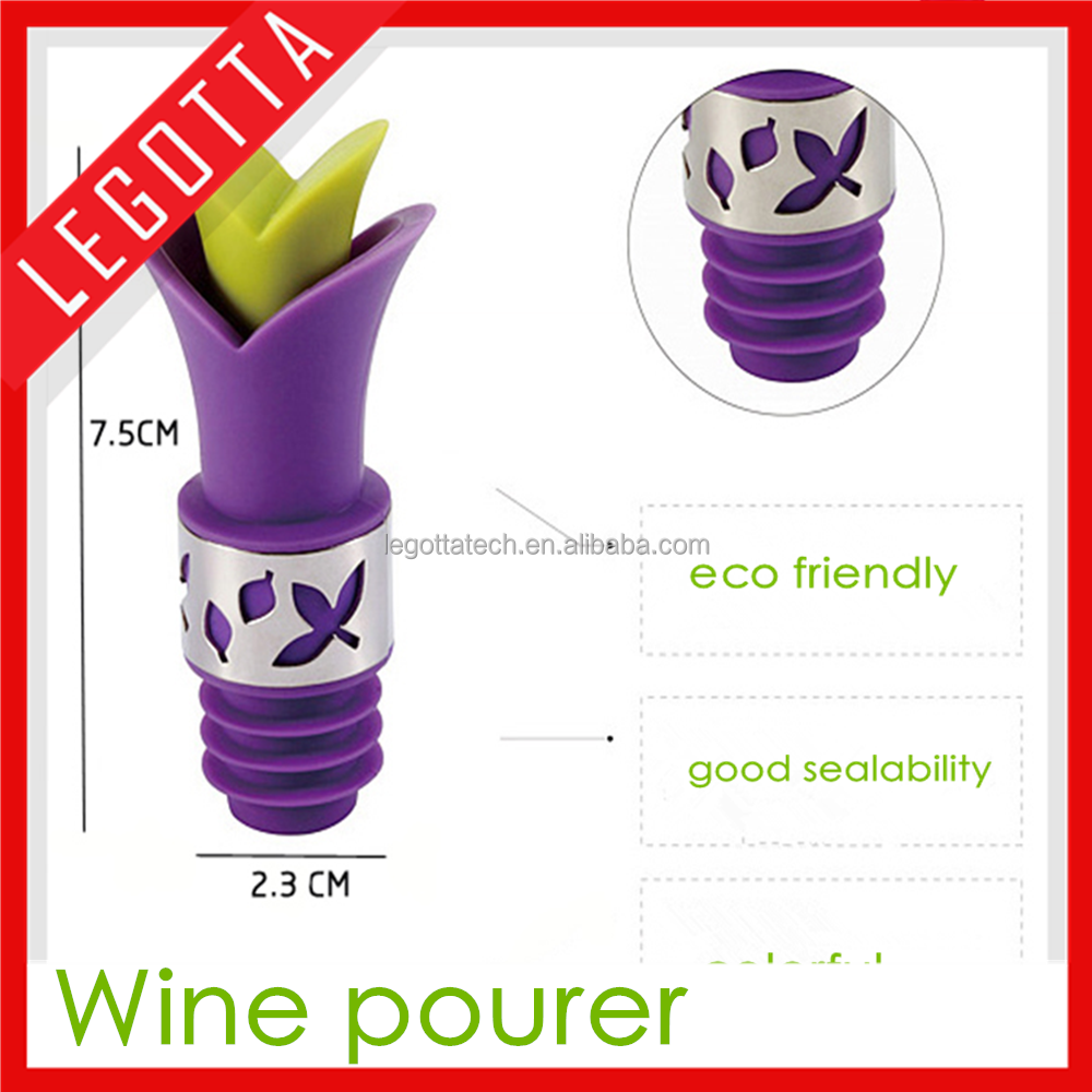 Chinese factory price novelty design best selling whisky wine stopper
