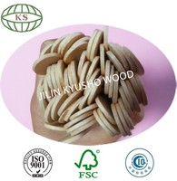 Wooden 160x6, 140x6, 150x6, 150x6 mm Round Ice Cream Sticks