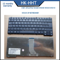 Spanish replacement laptop keyboard for Fujitsu V5505 V5545 V5555 V5515 V5535