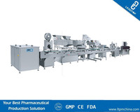 Pharmaceutical and nutraceutical machine Automatic bottling line