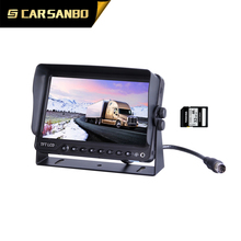 high quality 7 inch monitor with DVR function with good price