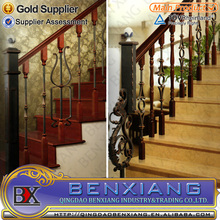 hot sell 2015 new product interior wrought Iron stair railings