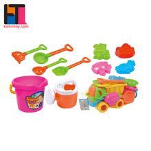 Top sale summer toy set plastic shovel and bucket kids beach toy truck