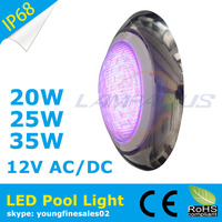 2015 new design multi color led swimming pool lights lamp surface mounted IP68 underwater light fixtures