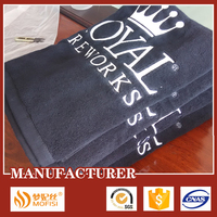 100% cotton luxury manufactures of bath towel with logo