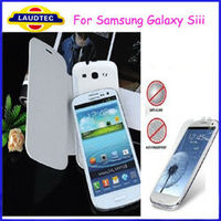 Hot selling Flip Leather Case Battery Back Cover For Samsung Galaxy S3