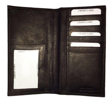 Boshiho Custom Leather Deluxe Leather Checkbook Covers