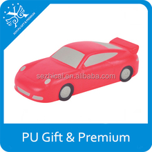 Best promotional gifts custom logo pu foam cool sportscar stress ball reliever new premium product of advertisment