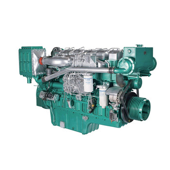 420HP water cooling YUCHAI YC6T420C marine engine