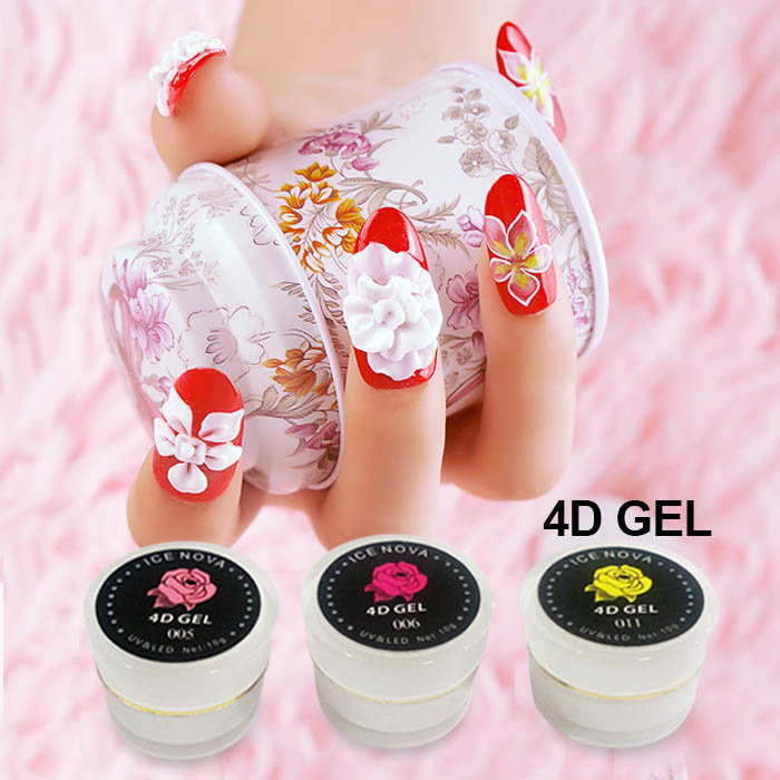 Long Lasting UV 4D Sculpture Gel for Nail Creative Design