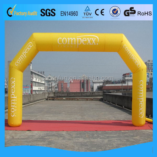 Quality latest vinyl inflatable arch
