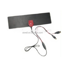 2016 Aiwell car dvb-t digital active antenna Indoor Digital HDTV Antenna 25dBi Ultra-thin with Detachable Amplifier