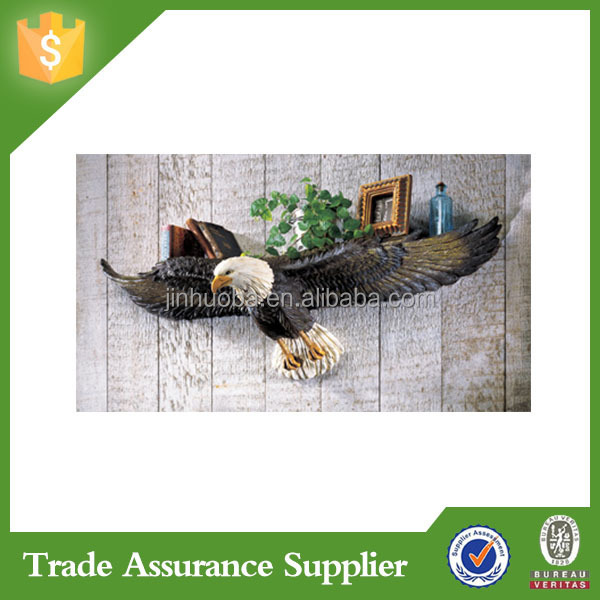 Resin Animal Figurine America Eagle Figurine For Home Decoration
